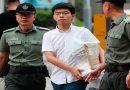 Freed Hong Kong democracy activist Joshua Wong joins mass calls for leader to quit