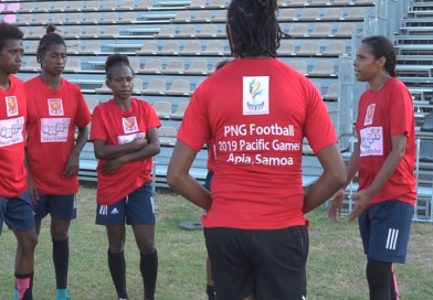 2019 Pacific Games: PNG Womens' Football Team ready to Defend Title