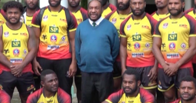 PNG SP Hunters to Face East Tigers this Weekend at Aipus Oval