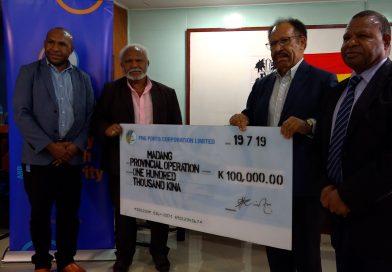 PNG Ports Assists Affected Manam Islanders