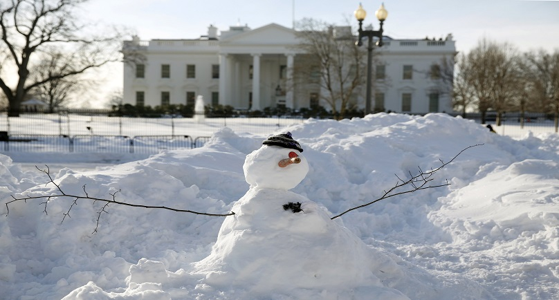 Days of cleanup ahead for Washington after epic blizzard