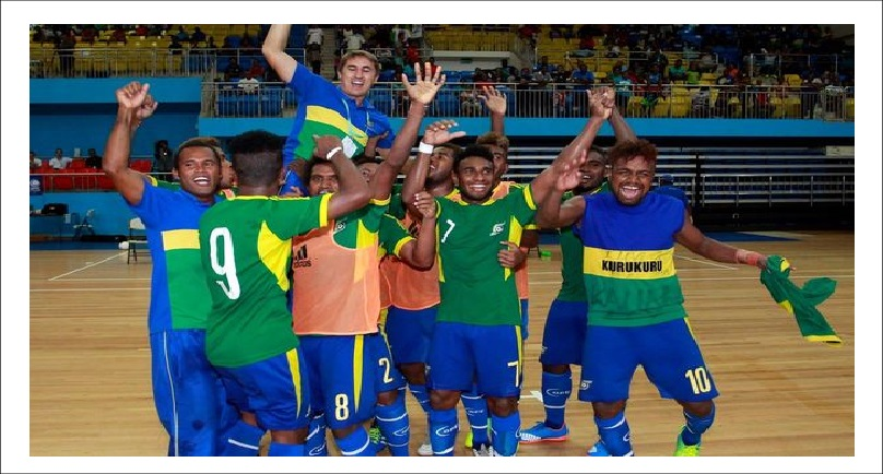 New Futsal Court For Solomon Islands