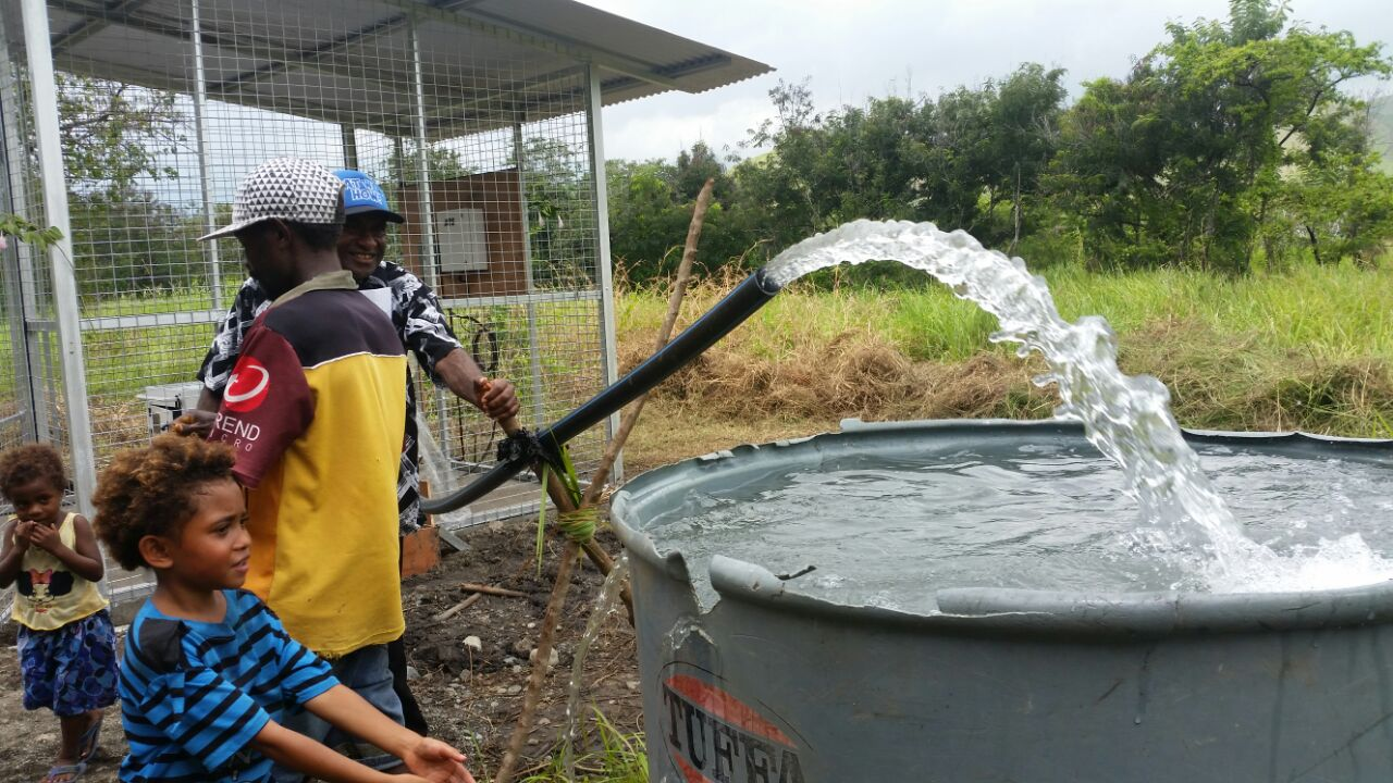 New Water Supply System For Dogura Locals