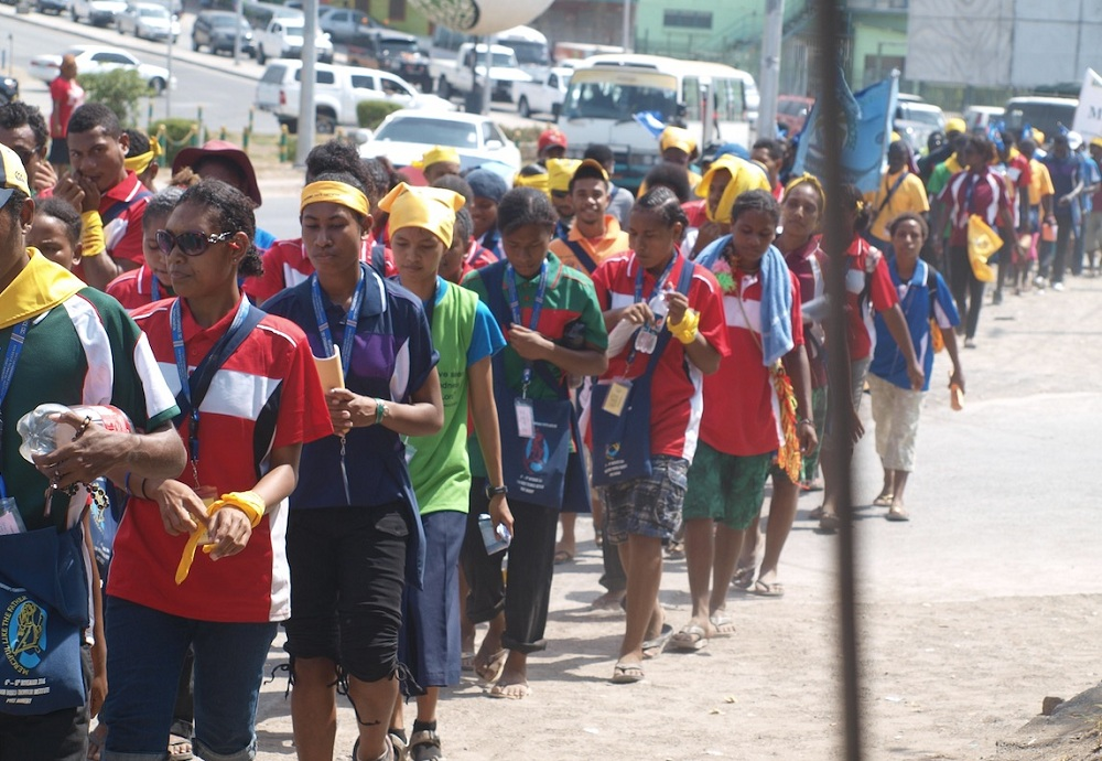 Youth Gather to Celebrate Jubilee Year of Mercy