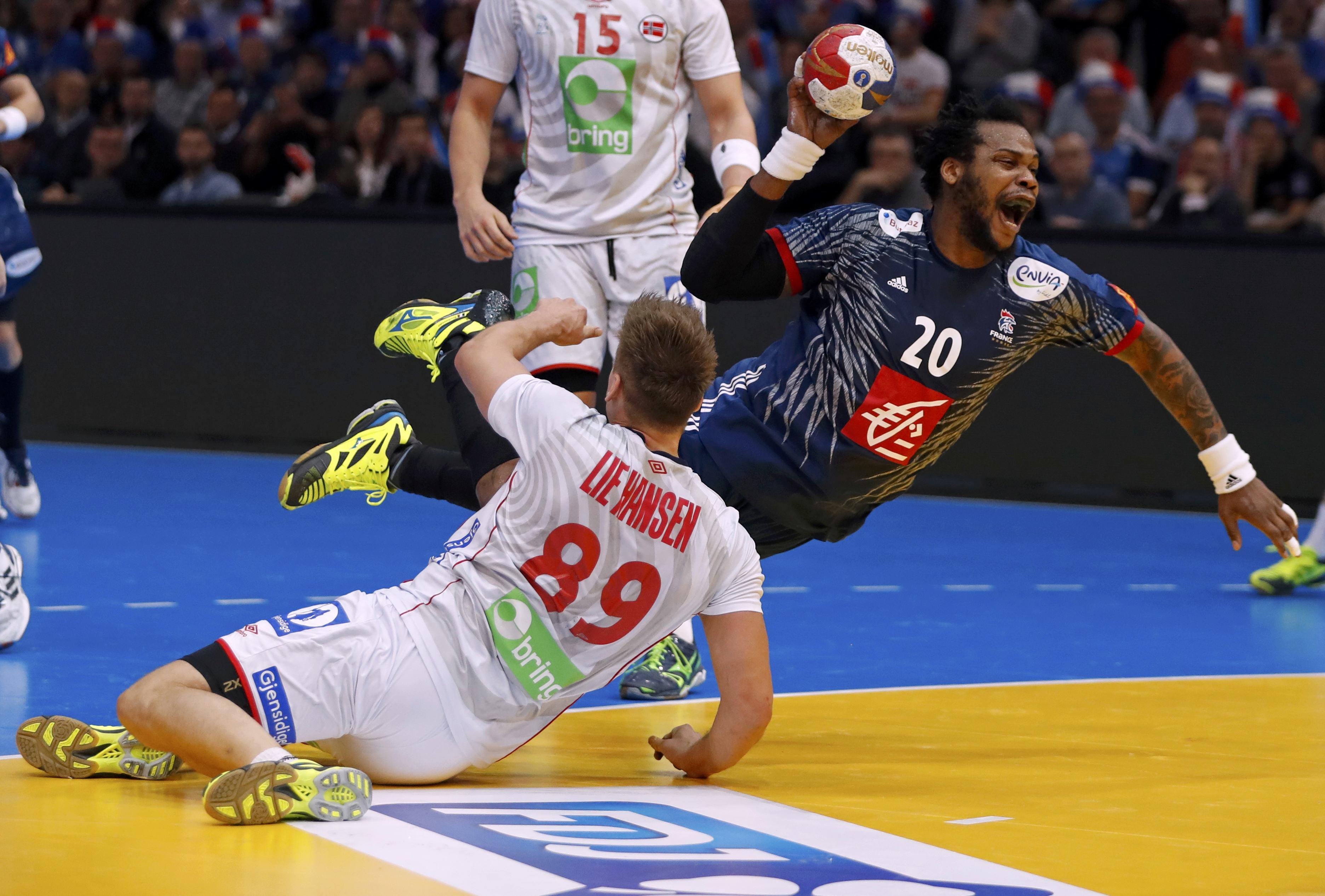 Men's Handball - France v Norway - 2017 Men's World Championship, Final - AccorHotels Arena, Paris, France - 29/01/17 - France's Cedric Sorhaindo in action.    REUTERS/Charles Platiau