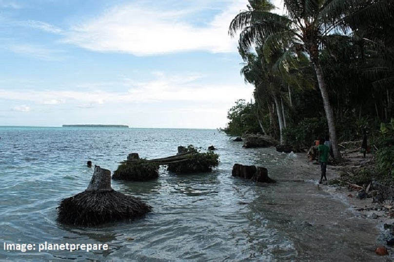 Carteret Islands yet to receive climate change funds