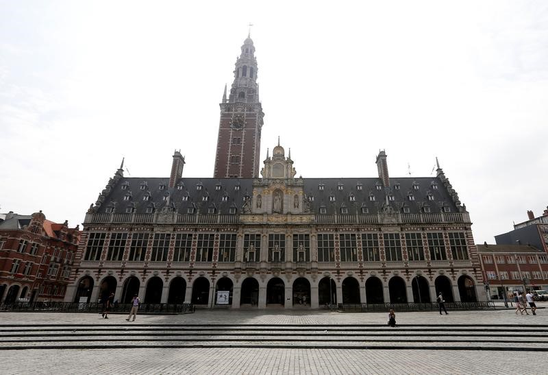 "The library of the university KU Leuven ""Katholieke Universiteit Leuven"" is pictured in Leuven, Belgium, June 8, 2016. REUTERS/Francois Lenoir"