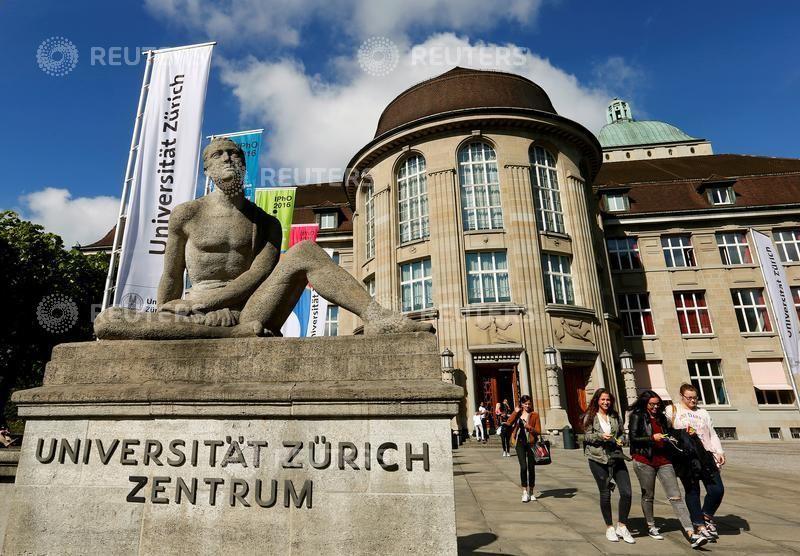 A general view shows the University of Zurich (Universitaet Zuerich) in Zurich, Switzerland May 20, 2016.  REUTERS/Arnd Wiegmann/File Photo