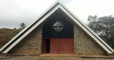 An old Catholic Church in the Remote Jiwaka Province. This church is in remote Jimi area in the new Jiwaka Province