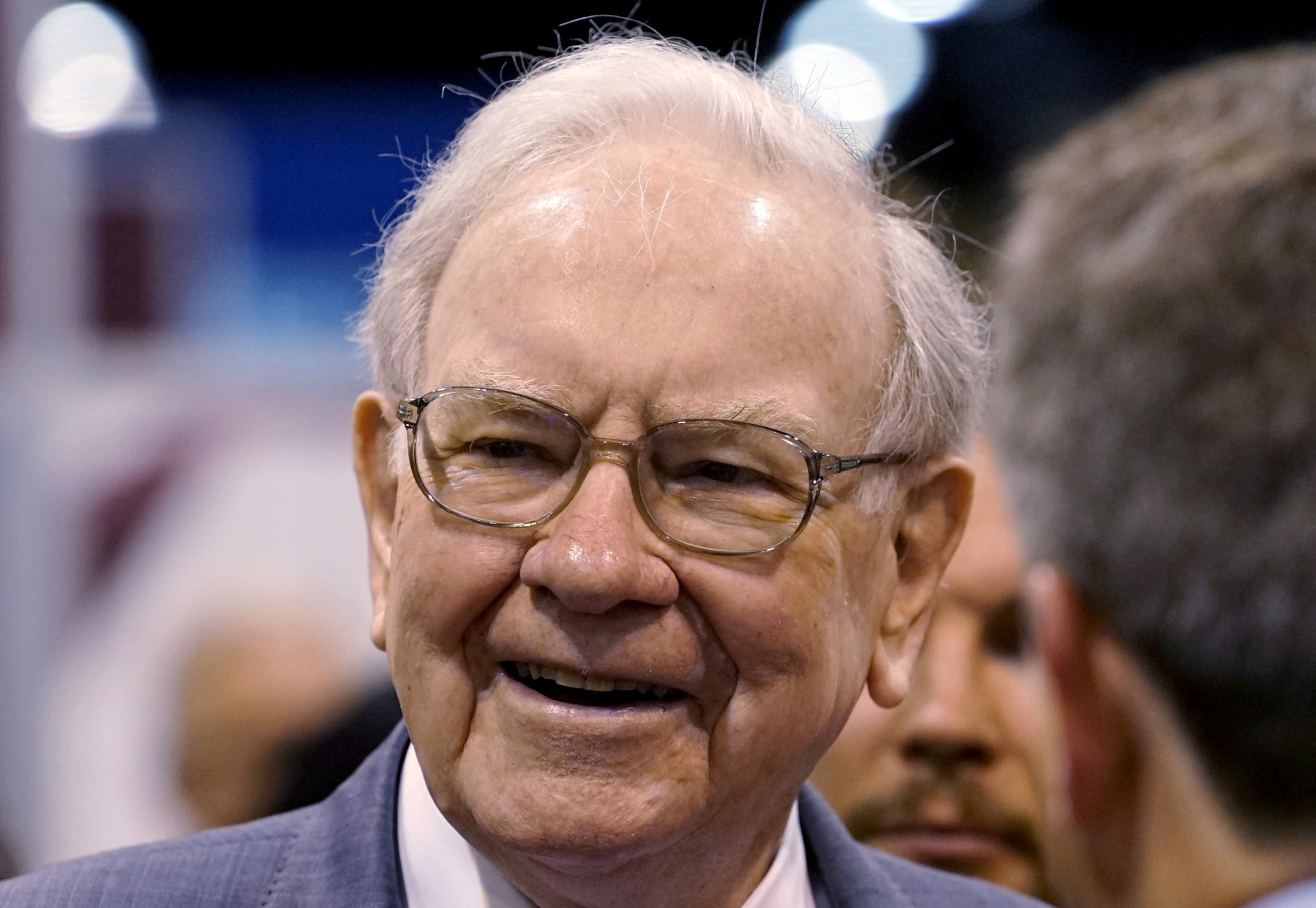 file photo berkshire hathaway ceo warren buffett talks to reporters prior to the berkshire annual meeting in omaha nebraska us on may 2 2015