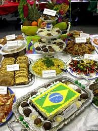 Some of the Brazilian food Stephanie came across