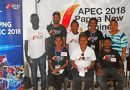 Journalism students stage APEC awareness