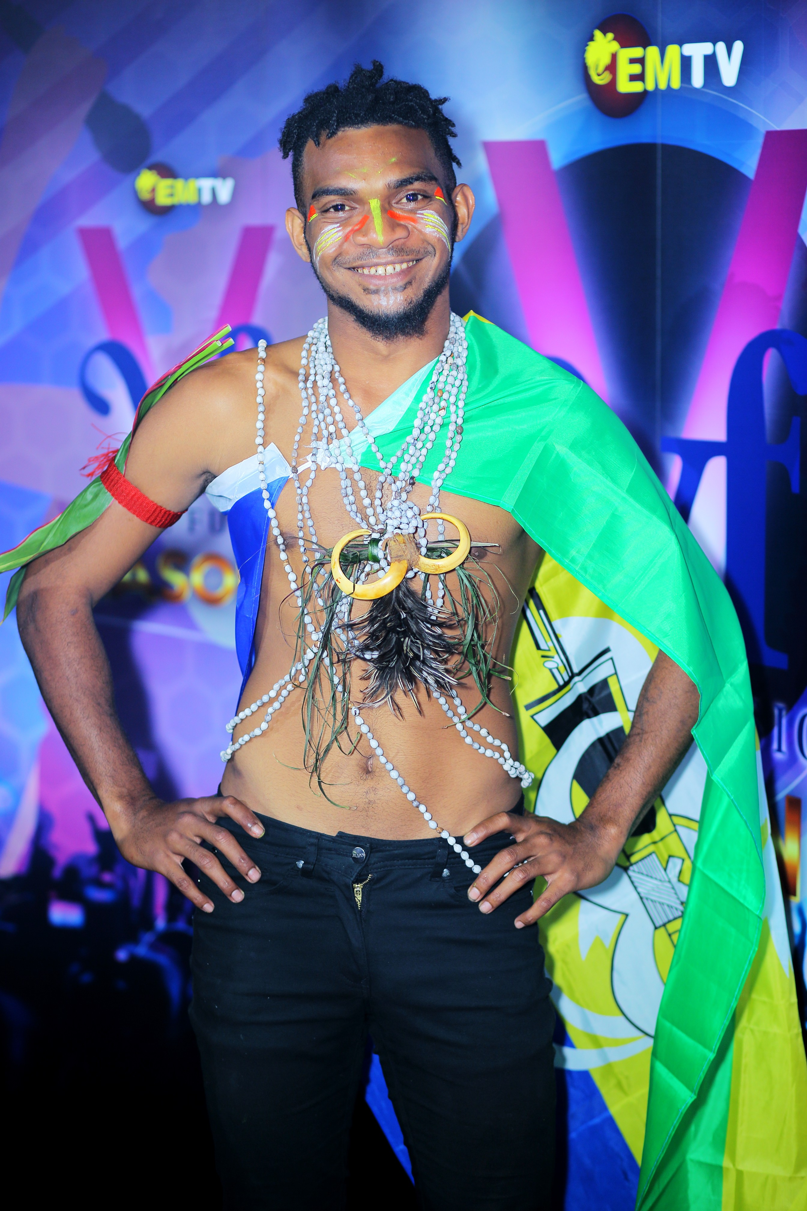 From the Lae auditions, Genisys Aaron says he auditioned for vocal fusion because it was his birthday. This talented young man is from Morobe and loves listening to Heavy Metal, Rock, Dubstep, RnB, and Rap music. The 22 year old says his musical icon is another 'Kumul bilong Morobe yet' - Honlly Issac.