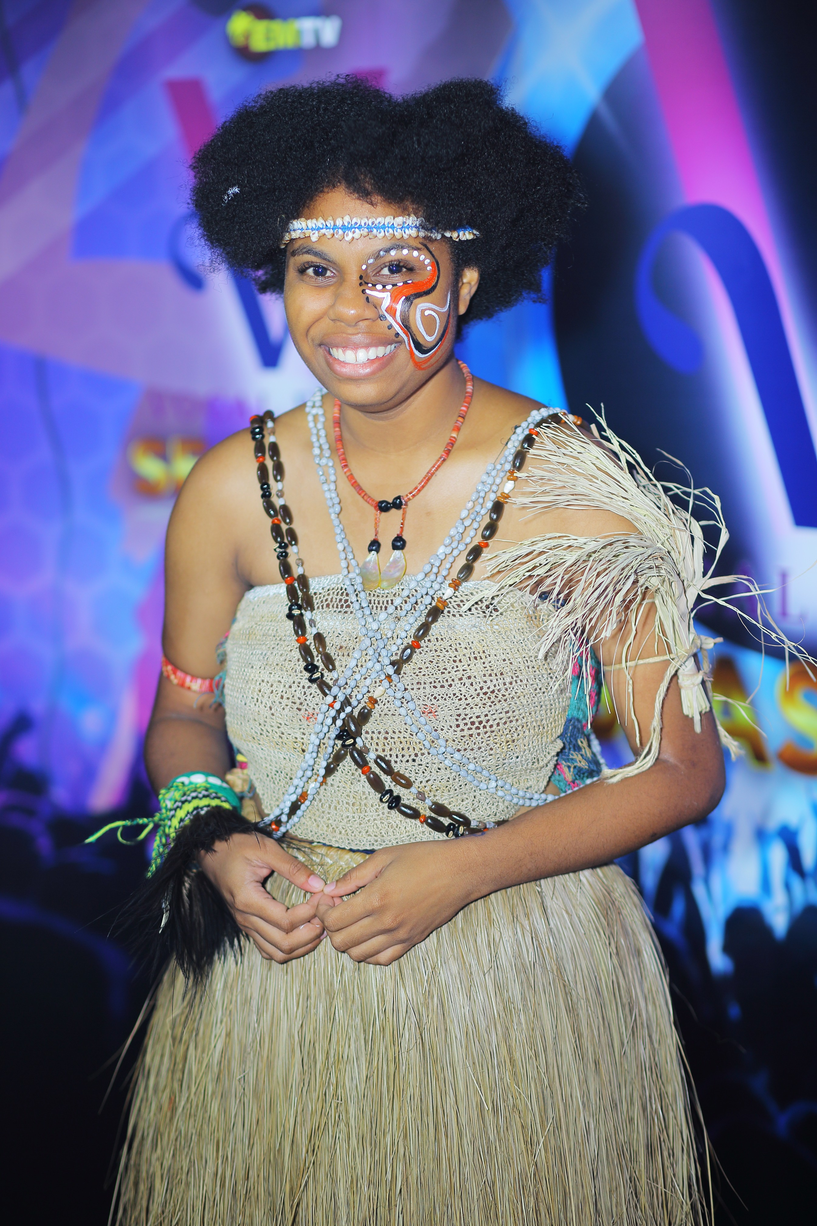 One of only two female contestants, Kirelle-Luen Bayagau hails from Milne Bay and Morobe. The 18 year old goes to school at Port Moresby International School. She enjoys listening to Indie, Pop, and Jazz music. Kirelle's favourite musical artist is Sia.