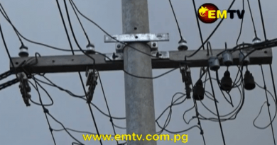 PNG Power: Replaces Fallen Power Poles in Port Moresby