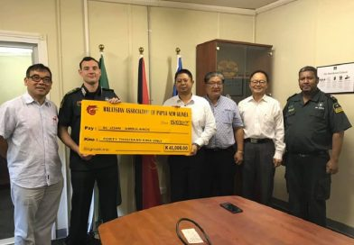 Malaysia Association in PNG Gives Much Needed Fund of K40, 000 to St. John Ambulance