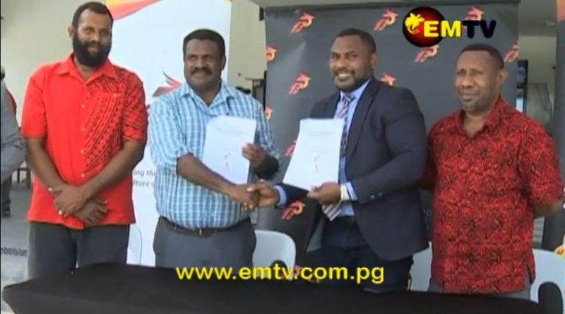 Lawn Bowls PNG signs MoU with Sports Foundation