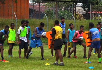 Students in Lae District Undergoing Training for School Carnival