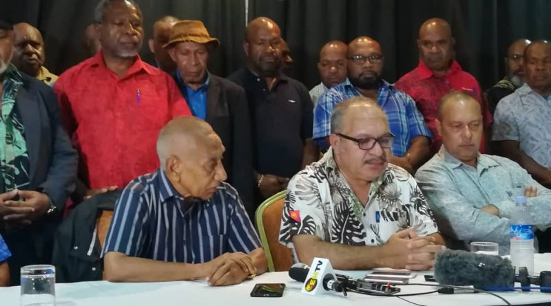 BREAKING: Peter O'Neill steps down as Prime Minister of Papua New Guinea