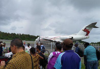 Closure of Buka Airport
