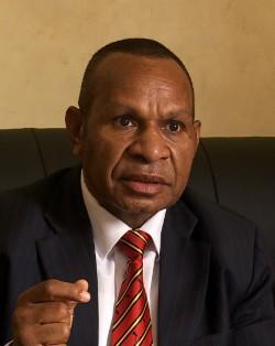 Opposition Leader & Vanimo-Green MP, Belden Namah