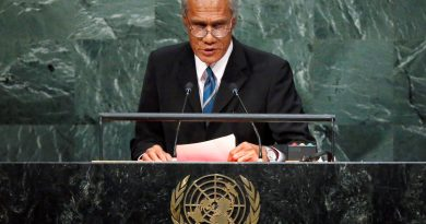 Tonga holds state funeral for climate change campaigner PM
