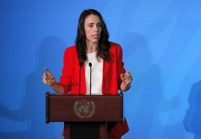 New Zealand PM Ardern, Trump discuss gun control in first formal meeting