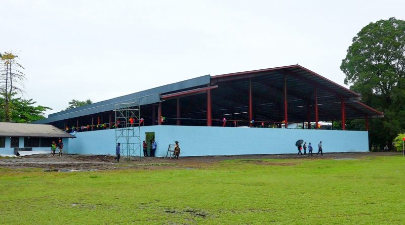 Lae Secondary School Management Commended for School's Infrastructure Developments