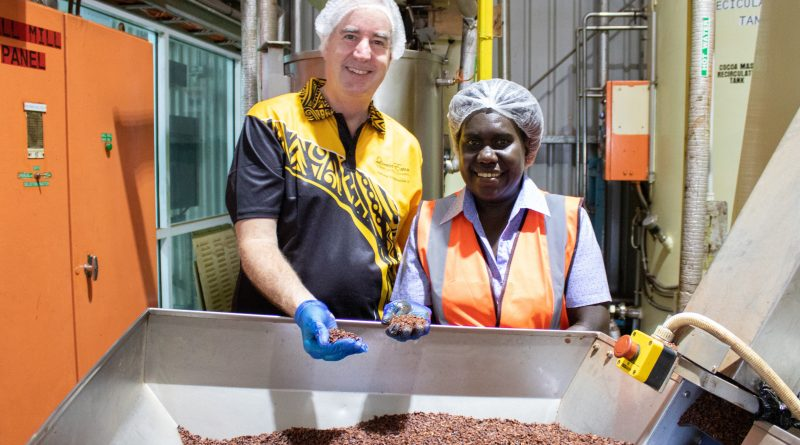 Queen Emma Chocolate Ramps up Production