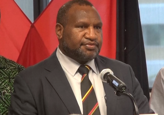 Marape Pulls out of UN Meet