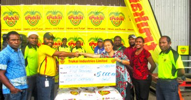 Trukai Backs Goroka Show with K10, 000