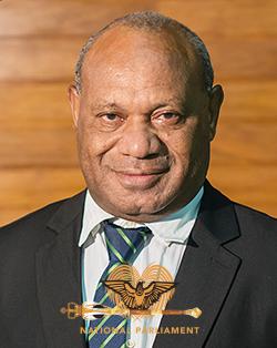 Kerema MP - Richard Mendani