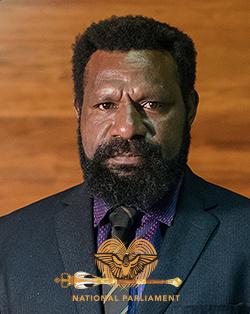 West Sepik Governor – Tony Wouwou
