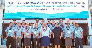 Pacific leaders work towards supporting the Blue Pacific