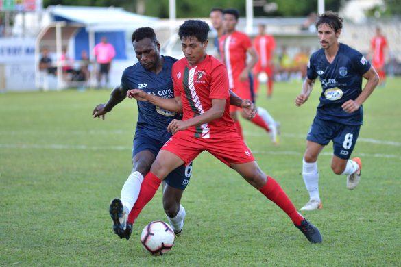 OFC Champions League 2020, group D. Auckland City FC (NZL) vs Lupe O Le Soaga (SAM) , Mahina Stadium, Tahiti, French Polynesia. Photo: Massimo Colombini