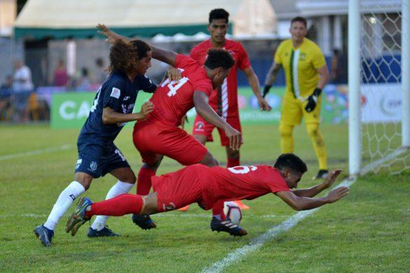 OFC Champions League 2020, group D.Auckland City FC (NZL) vs Lupe O Le Soaga (SAM) , Mahina Stadium, Tahiti, French Polynesia. Photo: Massimo Colombini